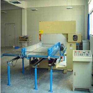 China Professional Easy To Operate Vertical Cutting Machine Foam Sheet Cutter Equipment on sale