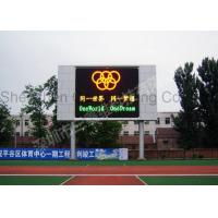 Buy cheap Waterproof Stadium Led Display Video / Led Digital Billboards Super Clear Vision product