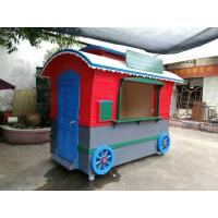 China Outdoor Cute Train Mobile Vending House CE Approved For Food / Coffee wholesale