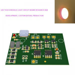China Hand Touch Key 3 Level 1.8W Night Light PCB With Key Board wholesale