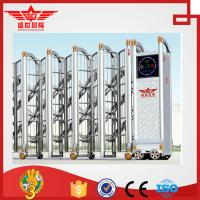 China stainless steel sliding gate manufacture industry gate folding gate  in China -J1516 wholesale