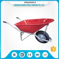 China Construction Heavy Duty Wheelbarrow WB8900 Pneumatic Wheel 16x4.00-8 180kgs Load wholesale