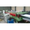 China Aluminium Corrugated Sheet Roof Roll Forming Machine High Speed 10-15m / Min wholesale
