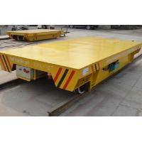 China Battery Powered On Rail Transfer Cart Trolley Heavy Duty 10 Ton To 300 Ton wholesale