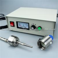 China DIY Spray Pyrolysis 50Khz Ultrasonic Spray Nozzles With Power Controller wholesale
