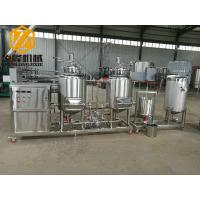 China Pub / Home Beer Making Machine , Stainless Steel Mini Beer Brewery Equipment wholesale