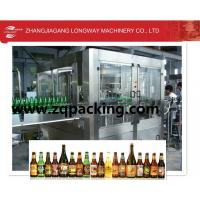China specialized in glass bottle machinery for juice or wine on sale