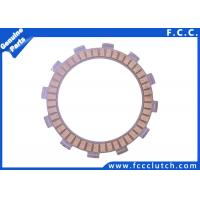 China Suzuki Motorcycle Clutch Plate , Paper Based Clutch Plate GD110 GS110 wholesale
