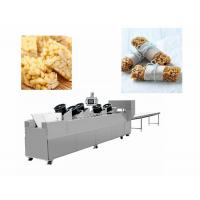 China Snack Bar Candy Making Machine Heat Preservation Batch Roller And Rope Sizer wholesale