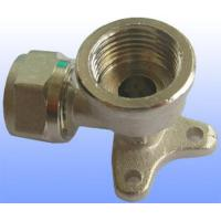 China compression brass fitting wall elbow for PEX-AL-PEX wholesale