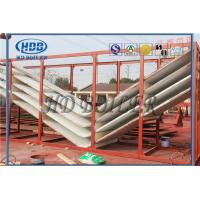 China Nose arch rear water-wall panels export USA Utility boiler bending radius 16'' wholesale