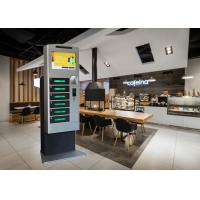 Buy cheap Restaurant Mall Cell Phone Charging Station With Advertising Touch Screen from wholesalers