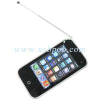 China 3.4 inch Quad Band Dual Card Dual Standby iPhone Style TV Phone i93GS with WIFI wholesale