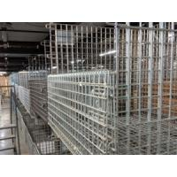 China Material Handling Equipment Collapsible Wire Container 1000*800*860 Customized wholesale