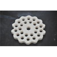 China Alumina Ceramic Disc Refractory Kiln Furniture Wear Resistant High Density wholesale