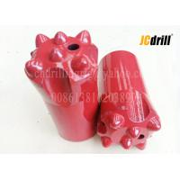 China Tapered Tungsten Carbide Button Rock Drill Bits For Small Hole Drilling 12 Degree wholesale