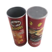 China Potato Chips Packing Food Grade Tube Packaging Kraft Paper Cylinders wholesale