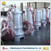 China hebei non-clog electric centrifugal submersible sewage pump wholesale