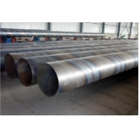 China ASTM 3PE Coating SSAW spiral welded steel pipes/API 5L SCH40 Spiral Welded Line Pipes/ASTM A106 GR.B Welded pipe wholesale