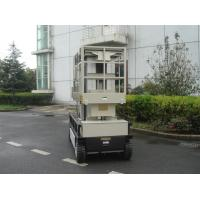 China 10m  Four Mast Self Propelled Aerial Lift 300kg Capacity For Auto Stations wholesale