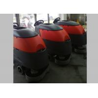 China Big Water Tank Walk Behind Floor Scrubbers Allow Foam Free Detergent Machine wholesale