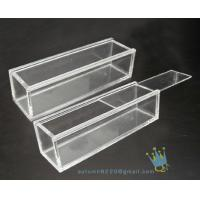 China BO (157) rectangular clear acrylic display case wholesale
