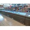 Buy cheap 8 Ft Large Supermarket Freezer Sliding Glass Door Freezer For Chicken Storage from wholesalers