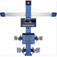 China T258 Four Tire Computerized Wheel Aligner Two Cameras High Accuracy 3d 3EXCEL wholesale