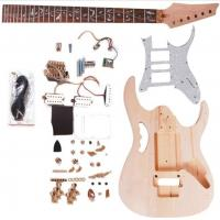 China Double Locking System Ibanez DIY Electric Guitar Kits With Pearl Loid Pickguard AG-IB2 wholesale
