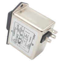 China Low pass Low-frequency IEC inlet EMI Filter With fuse-holder and switch with light wholesale