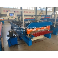 China 500mm Corrugated Sheet Roll Forming Machine wholesale