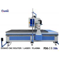 China MDF Plate Cutting 3 Axis CNC Router Machine With Infrared Sensing System wholesale