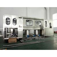 China Fully Automatic Drinking Water Filling Machine 600-3000BPH For 5 Gallon PET Bottle wholesale