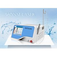 Buy cheap 10W / 15W / 30W 980 nm Diode Laser Machine Vascular Removal Cherry Angiomas Removal product