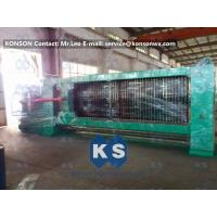 China Double Twist Gabion Mesh Machine With Overload Protect Clutch And Hydraulic System wholesale