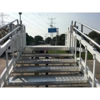China Safety Towable Passenger Stairs 1960 x 1560 mm Platform For A300 A380 B72 wholesale