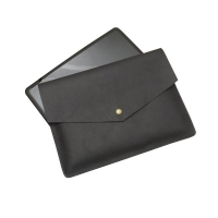 China Black Leather Tablet Protective Cases With Pop Button wholesale