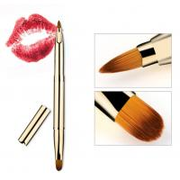 China Double Head Lip Makeup Tools , Lip Liner With Brush 1 CM Hair Length wholesale