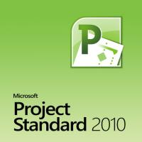 Quality Full Version Microsoft Project Standard 2010 Key License 32 / 64 Bits for sale