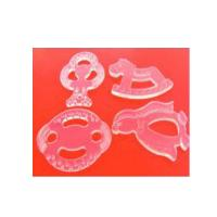 China silicone baby teether for molars ,100% safety material silicone baby teether wholesale