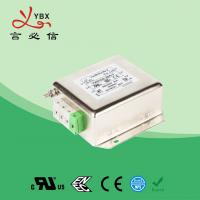 China Passive 3 Phase Rfi Filter 440VAC 10A Low Pass Transfer Function wholesale