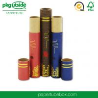 China Recyclable Custom Paper Tubes Packaging ColorfulStamping Logo For Cosmetics on sale