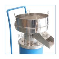 China 0.55 Kw Powder Sieving Machine , Powder Sifter Machine 400 Mm Diameter wholesale