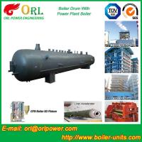 China Power Plant CFB Boiler Drum Environmental Protection , Oil Steam Boiler Drum wholesale