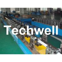 China PU Foam Roller Shutter Door Forming Machine With 3 - 12m/min Forming Speed wholesale
