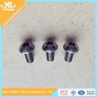 China Best price for Gr5 titanium torx button head screws wholesale