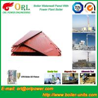 China Water Heater Boiler Membrane Wall Tube Boiler Parts Non Pollution wholesale