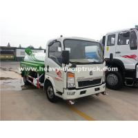 China Right Hand Driving 8CBM Truck Mounted Water Tank With 140Hp Euro II Engine wholesale