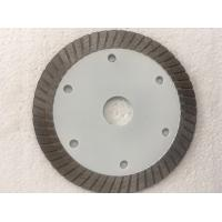 China White Hot Pressed Mid Turbo Diamond Saw Blade Granite Cutting Marble 4 5 Inches Size wholesale