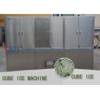 China Energy Saving Ice Cube Maker Machine Auto Ice Making / Ice Dropping wholesale